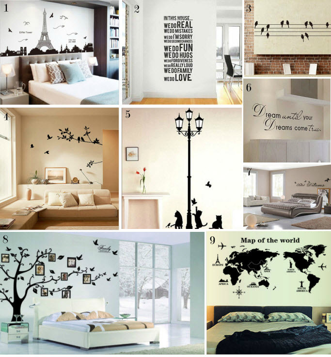 Friday Ebay bargains #10 - Home decor wall stickers - Call me Madie